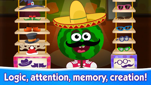 Funny Food educational games for kids toddlers 屏幕截图 4