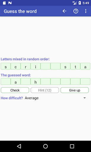 Word Game Collection(Free) screenshot 7