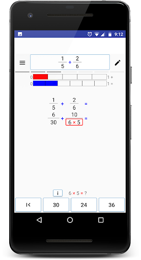 Math (Fractions) Step By Step screenshot 5