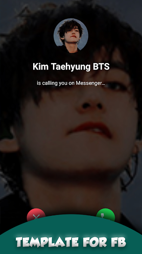 BTS V Kim Taehyung Call You Fake Call For Whatsapp screenshot 5