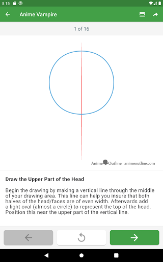 How to draw anime step by step screenshot 16
