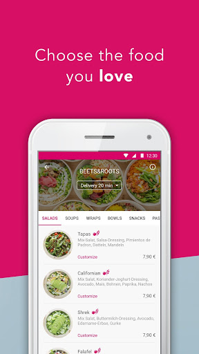 foodora screenshot 2