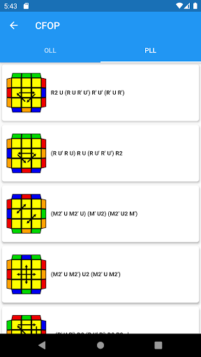 CubingApp screenshot 6