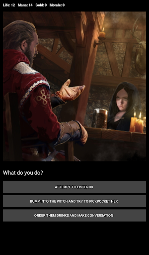 D&D Style Medieval Fantasy RPG (Choices Game) screenshot 20