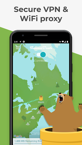 TunnelBear VPN 屏幕截图 2