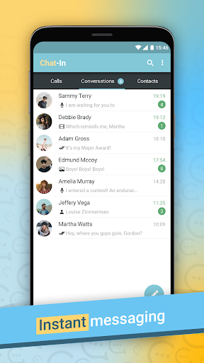 Chat-In Instant Messenger screenshot 2