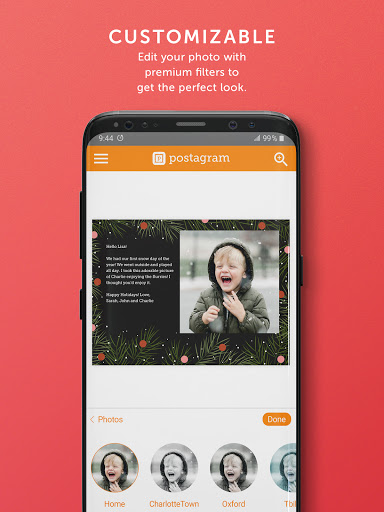 Postagram: Send Custom Photo Postcards screenshot 10