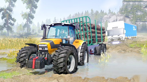 Tractor Pull & Farming Duty Game 2019 screenshot 4