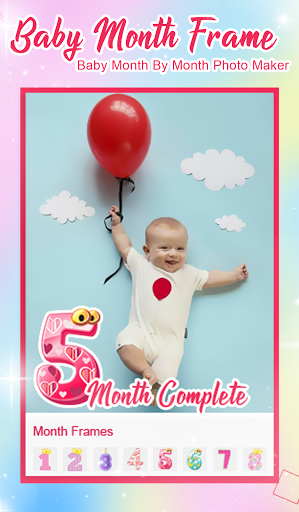 Baby Month Complete Photo Frame screenshot 5