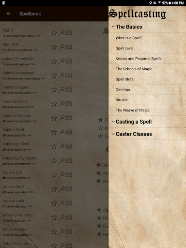 D&D Spellbook 5e screenshot 13