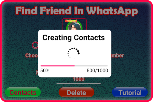 Friend Search for Chat 屏幕截图 2