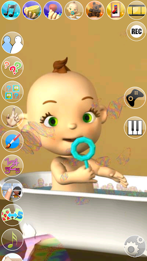 My Talking Baby Music Star screenshot 2