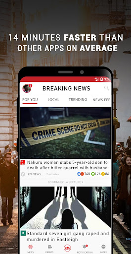Kenya Breaking News Bildschirmfoto 1
