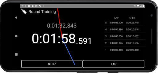Stopwatch with History screenshot 6