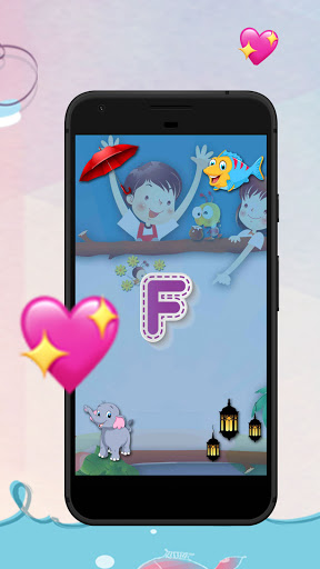 The Puzzle Game of Learning Alphabets screenshot 2