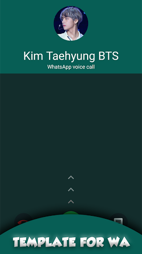 BTS V Kim Taehyung Call You Fake Call For Whatsapp screenshot 3