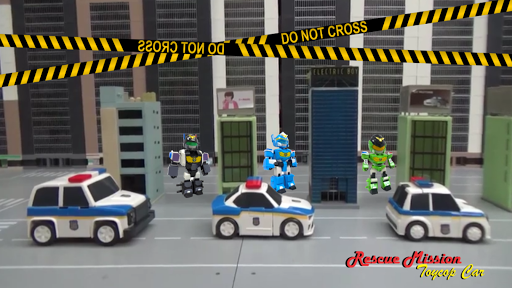 Rescue Mission Toy Police Car screenshot 1