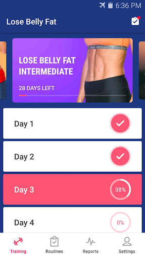 Lose Belly Fat at Home screenshot 8