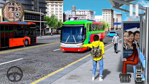 Modern City Coach Bus Driving Simulator screenshot 2