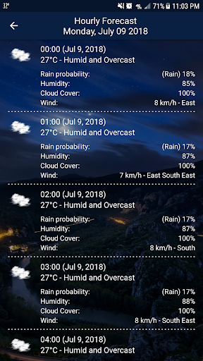 Weather - Weather Real-time Forecast screenshot 4