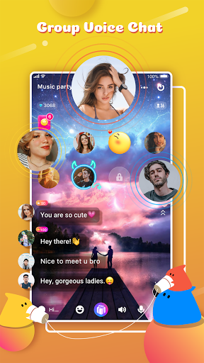 YoHo: Group voice chat, Live talk & ClubHouse screenshot 2