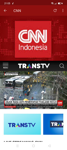 Streaming TV & radio lokal screenshot 16