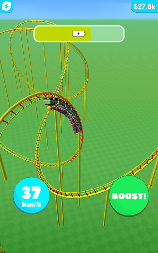 Hyper Roller Coaster screenshot 11