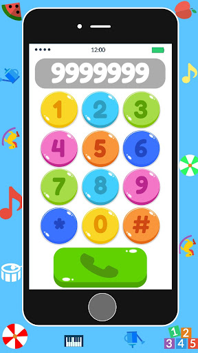Baby Real Phone. Kids Game screenshot 1