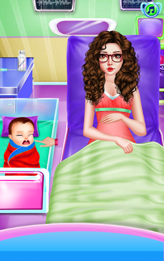 Newborn Care Game Pregnant games Mommy in Hospital screenshot 2