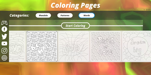 Coloring Pages [Adults] screenshot 10