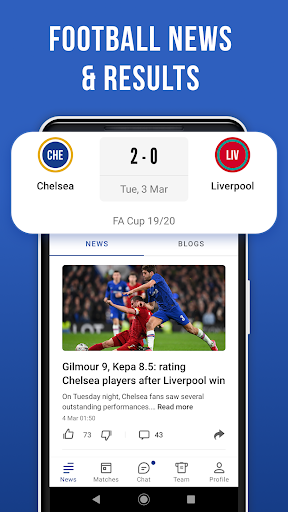 Blues Live Unofficial — Scores & News for Fans screenshot 2