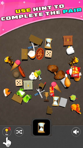 Pair Matching 3D Puzzle Game screenshot 2
