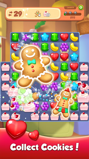 Candy N Cookie : Match3 Puzzle screenshot 3