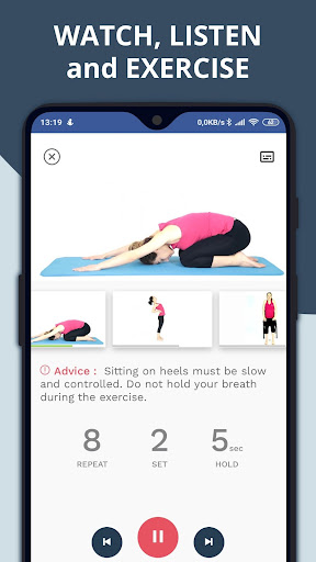 Exercises for Back, Neck and Posture screenshot 3