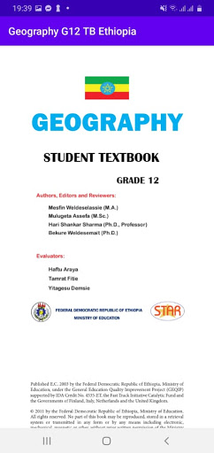 Geography Grade 12 Textbook for Ethiopia 12 Grade screenshot 4