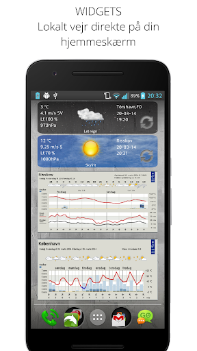 Weather From DMI and YR screenshot 4