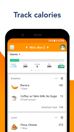 Calorie Counter by Lose It! for Diet & Weight Loss screenshot 1