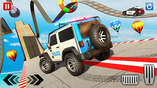 Police Prado Car Stunt Games screenshot 9