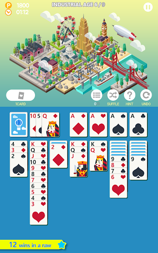 Age of solitaire screenshot 1