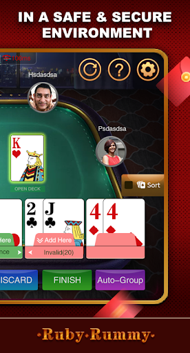 Ruby Rummy-Indian Online Free Card Game screenshot 5
