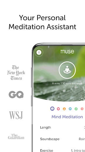 Muse: Meditation & Sleep Assistant screenshot 1