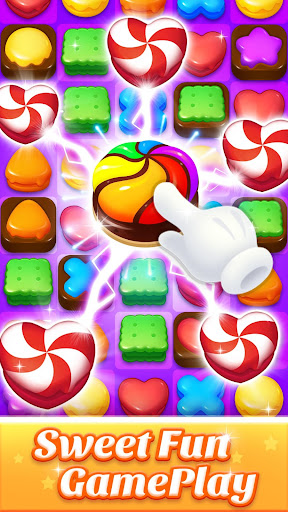 Cookie World -- Clash of Cookie & Colorful Puzzle screenshot 1
