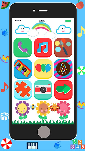Baby Real Phone. Kids Game screenshot 6