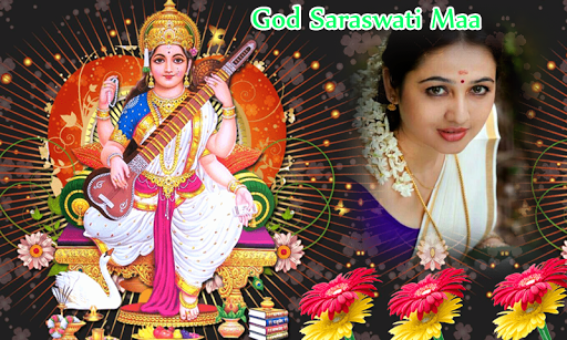 God Saraswati Maa Photo Frames screenshot 4