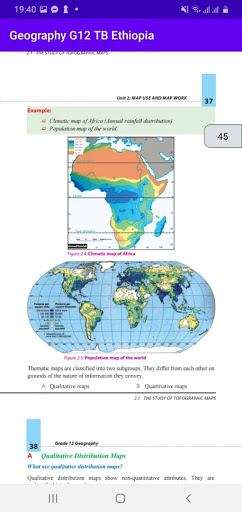 Geography Grade 12 Textbook for Ethiopia 12 Grade screenshot 1