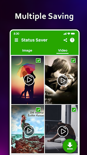 Auto Status saver Download : Repost Statuses All screenshot 5