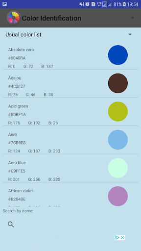 Color Identification screenshot 7