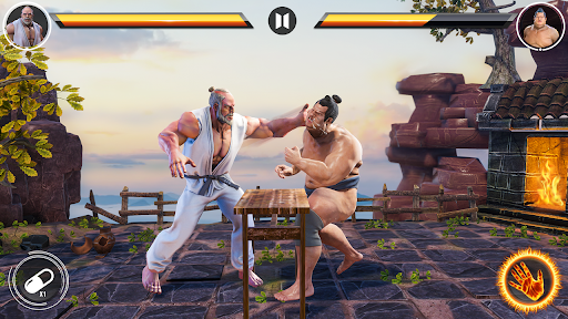Kung fu fight karate offline games 2020 screenshot 20