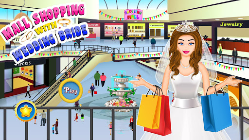 Mall Shopping with Wedding Bride - Dressing Store screenshot 2