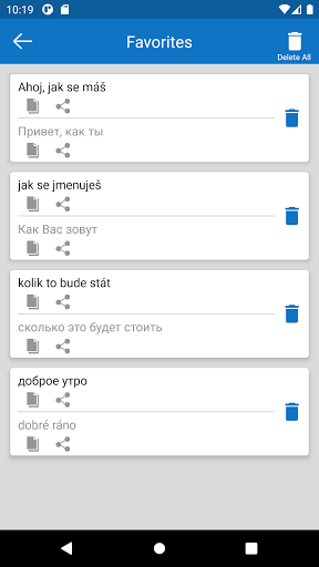 Czech Russian Free Translator screenshot 5